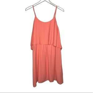 NWT Mossimo Coral Summer Dress Size Large